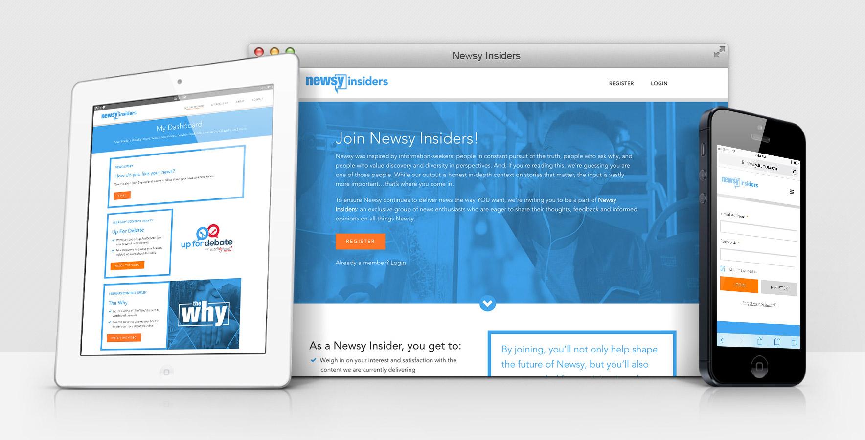 newsy-insiders-platform